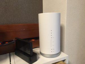 WiMAX2+L01ホームルーター