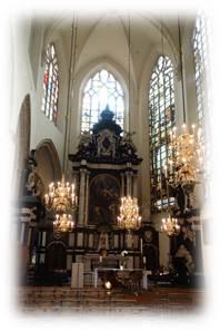 サンミッシェル大聖堂内陣