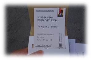 ザルツブルク音楽祭チケット