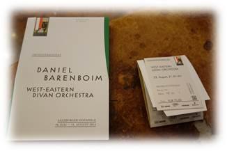 ザルツブルク音楽祭プログラム