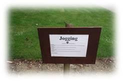 ブリュッセル公園ジョギング