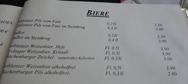 ドイツビール種類