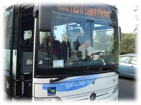 ドルドゥブルターニュ駅バス