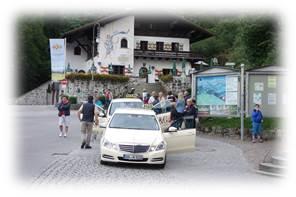 ノイシュヴァンシュタイン城タクシー