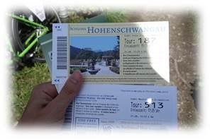 ノイシュヴァンシュタイン城チケット