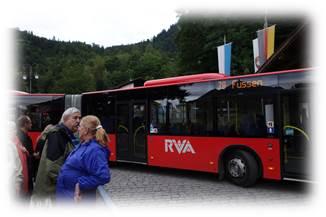 ノイシュヴァンシュタイン城臨時バス