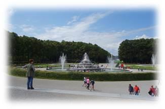 ヘレンキームゼー城噴水