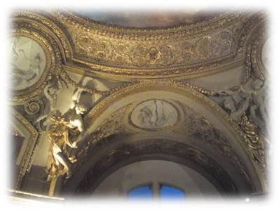 ルーブル美術館天井