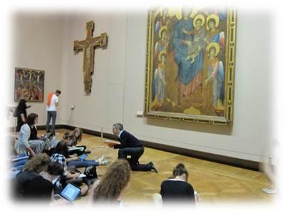 ルーブル美術館授業