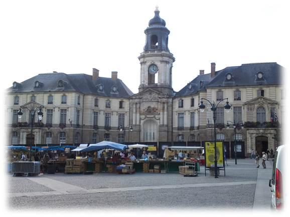 レンヌ市庁舎