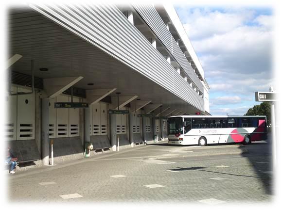レンヌ駅バス停