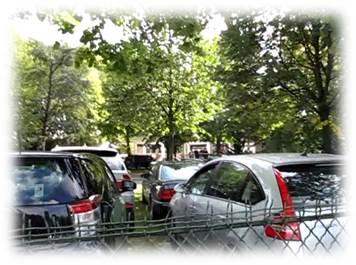 ロンシャン競馬場駐車場