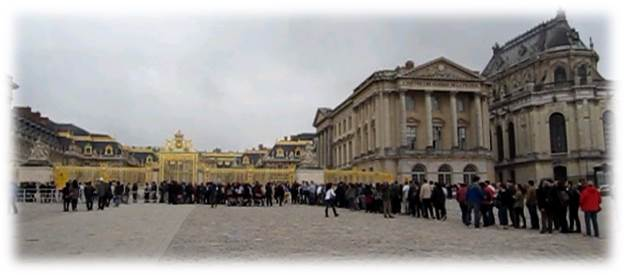 ヴェルサイユ宮殿待ち時間