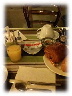 タマリス朝食