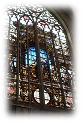 聖サンミッシェル大聖堂ステンドグラス