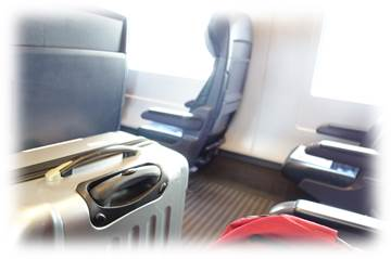 DB電車内