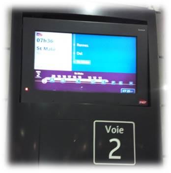 TGV乗り場