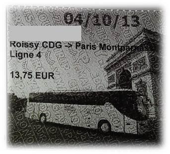 エールフランスバスチケット