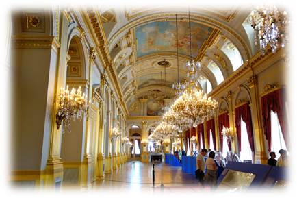 入場料無料のベルギー王宮