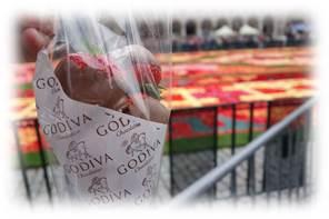 ブリュッセルにあるゴディバ本店のイチゴチョコとは?