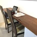ニトリのカラーボックスと天板でカウンターテーブルを簡単DIY