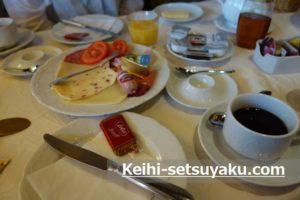 リューデスハイム朝食