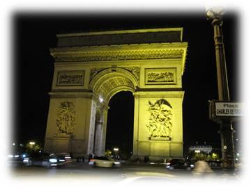 パリミュージアムパスで凱旋門に上ってみた