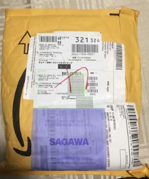 Amazon.com到着