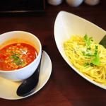 【山科】椥辻駅近くつけ麺のお店:つけ担担麺市右衛門のレビュー