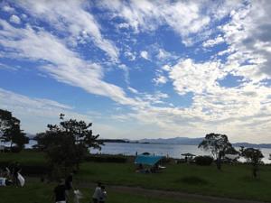 琵琶湖東岸