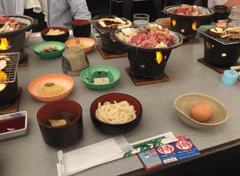 焼き松茸松阪牛食べ放題レビュー