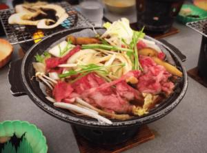 食べ放題松阪牛すき焼きレビュー