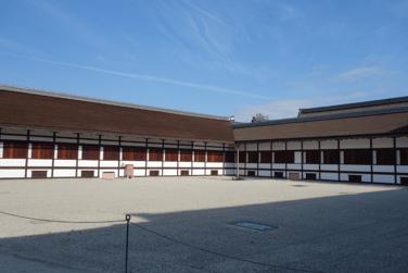 京都御所清涼殿庭