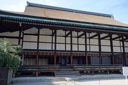 京都御所清涼殿