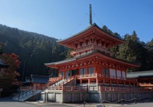 比叡山延暦寺東塔