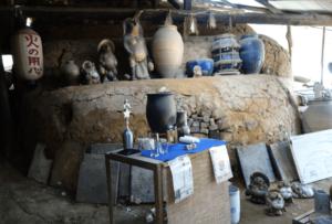 信楽陶芸村のぼり窯