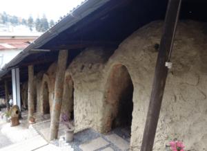 信楽陶芸村のぼり窯カフェ