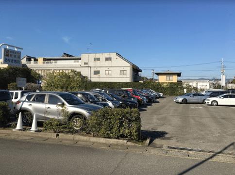 城南宮駐車場混雑