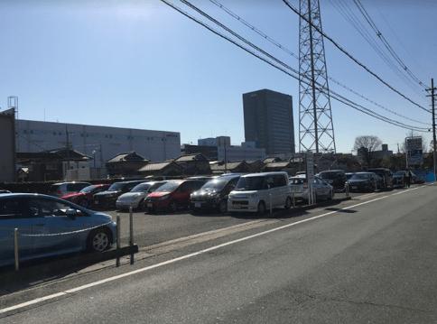 城南宮駐車場混雑満車