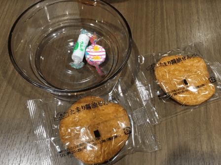イオンラウンジお菓子トップバリュー種類