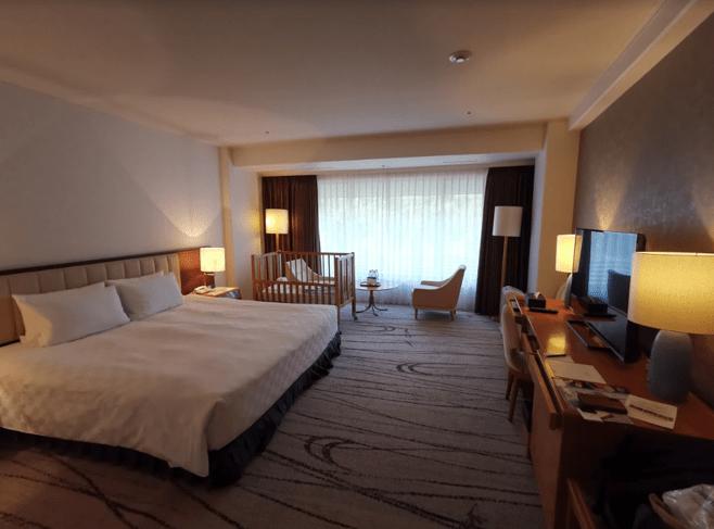 グランドプリンスホテル京都デラックスキング部屋