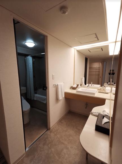 グランドプリンスホテル京都洗面化粧台