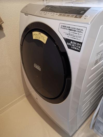 日立ドラム式洗濯乾燥機