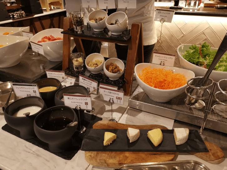 いと桜朝食サラダ