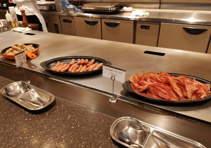 いと桜朝食温製料理