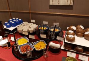 いと桜朝食和惣菜