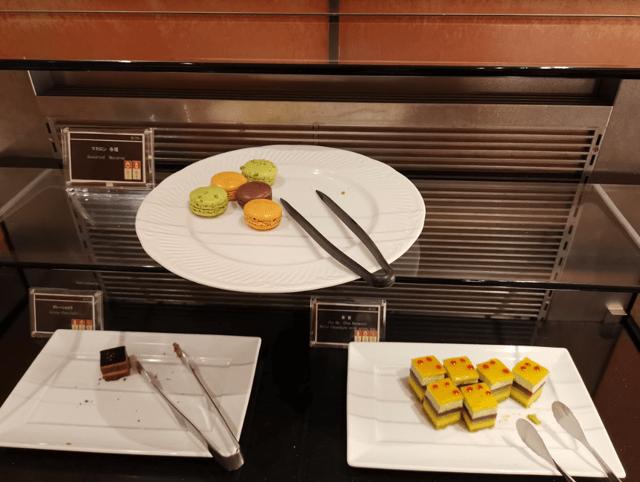 グランドプリンスホテル京都ロイヤルラウンジナイトキャップスイーツ