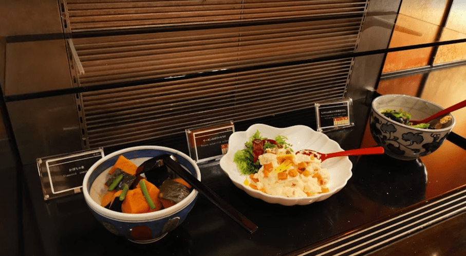 グランドプリンスホテル京都ロイヤルラウンジおばんざい