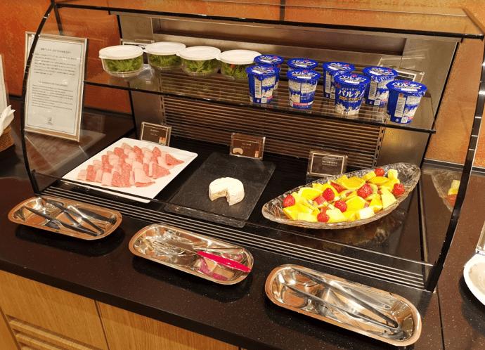 グランドプリンスホテル京都ロイヤルラウンジ朝食