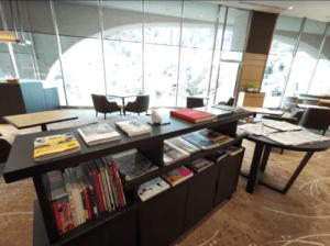 グランドプリンスホテル京都ロイヤルラウンジ本雑誌口コミレビュー